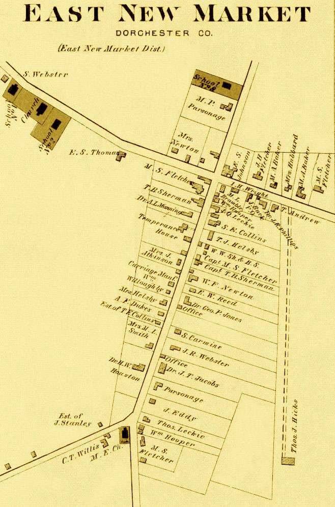 1877 East New Market Map